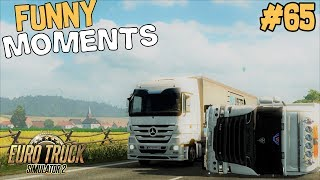 Euro Truck Simulator 2 Multiplayer | Funny Moments & Crash Compilation | #65