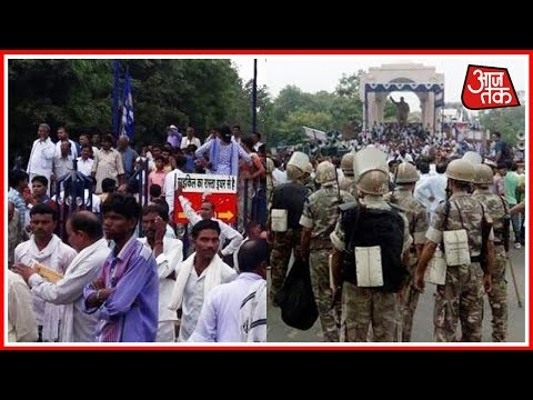 BSP Workers Take Out Protest Against Ex BJP VP Dayashankar Singh