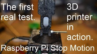 Raspberry Pi Stop Motion on a boat, FreeCAD, Cura, 3D printer. Part 5