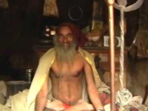 Yogi at Badrinath Vrindavan - Shiva Bhakta in meditation