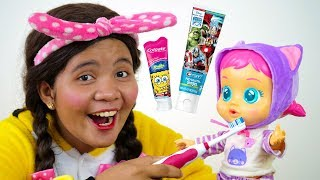 Brush Your Teeth Song Nursery Rhymes for Kids #3