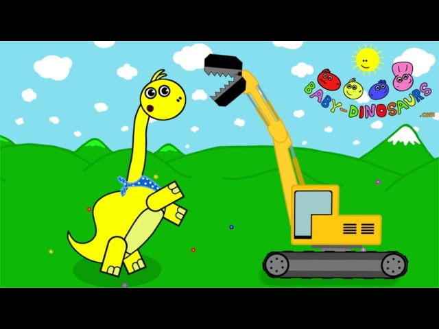 Bajki dla dzieci po Polsku Dinozaury Baby Dinosaurs