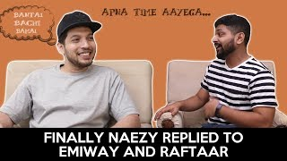 Finally Naezy Replied To Emiway And Raftaar |  Insiprational Life Of Naezy | Gully Boy | RVCJ