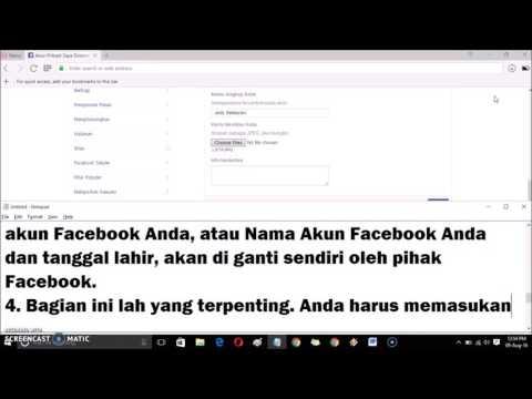 Cara Buka Facebook Terkunci   Tebak Foto Teman