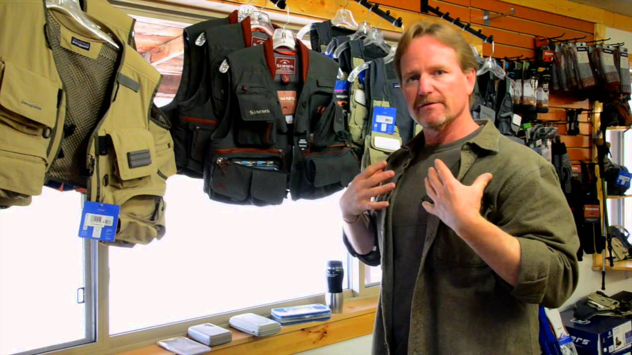 Gear Talk with Kelly Galloup  Vests vs  Hip  Packs