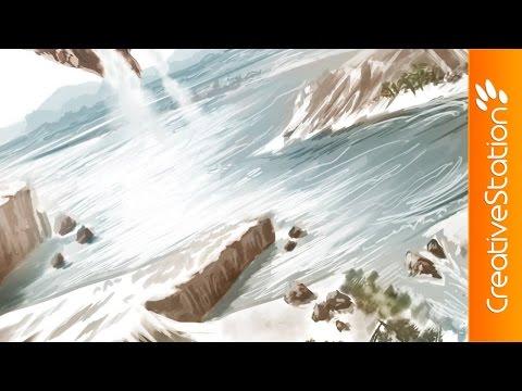 Gravity Bay - Speed Painting (#Photoshop) | CreativeStation