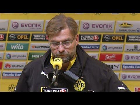 Pressekonferenz: Jürgen Klopp nach der Heimniederlage gegen den FC Augsburg (0:1) | BVB