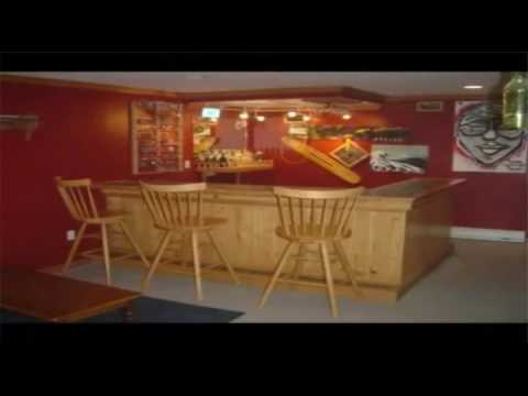 completed home bar projects youtube