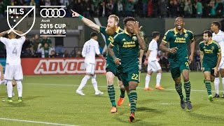 Portland Timbers 2, Sporting KC 2 - Timbers advance on PKs | MLS Cup Playoff Highlights