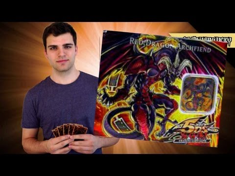 Best Yugioh 5ds 2008 Red Dragon Archfiend Tin Opening! ..secret?.. Oh Baby!! video