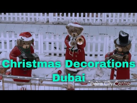 Christmas Decorations 2010 - Dubai