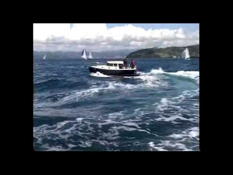 Pilothouse HABER 700MPL testing on the Adriatic Sea - Slovenia