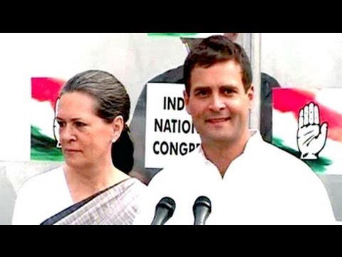 Election Results 2014: Rahul Gandhi Smiling Says He Accepts...