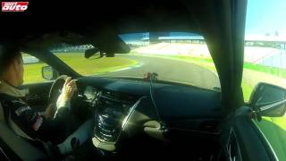 320 km/h (199 mph) Test Cadillac CTS-V (2015) 649 PS sport auto