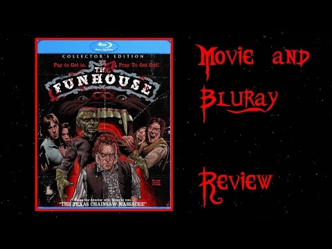 The Funhouse (1981) - Movie blu-ray Review video