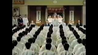 100-man kumite. Shokei Matsui
