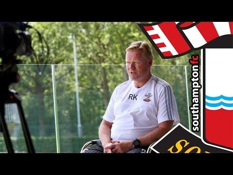 Koeman on pre-season, transfers and Europa League