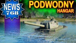 Podwodny garaż? - Świetny mod do World of Tanks