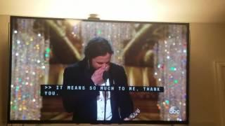 Casey Affleck Oscar acceptance speech