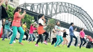 ICC World Twenty 20 Bangladesh 2014, Flash Mob - SYDNEY, Australia