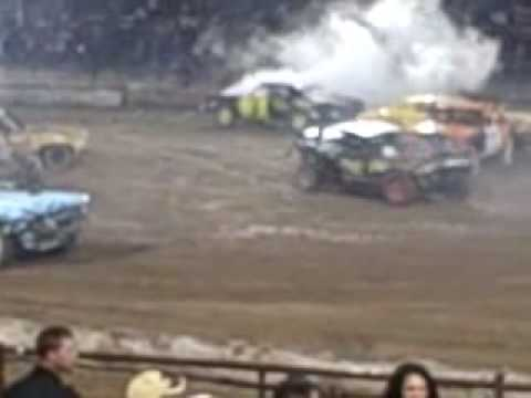 Sexy Welder first Demo derby. Sanders county fair in Plains MT Second Place finish!!!!!! www.nwdemoderby.com.
