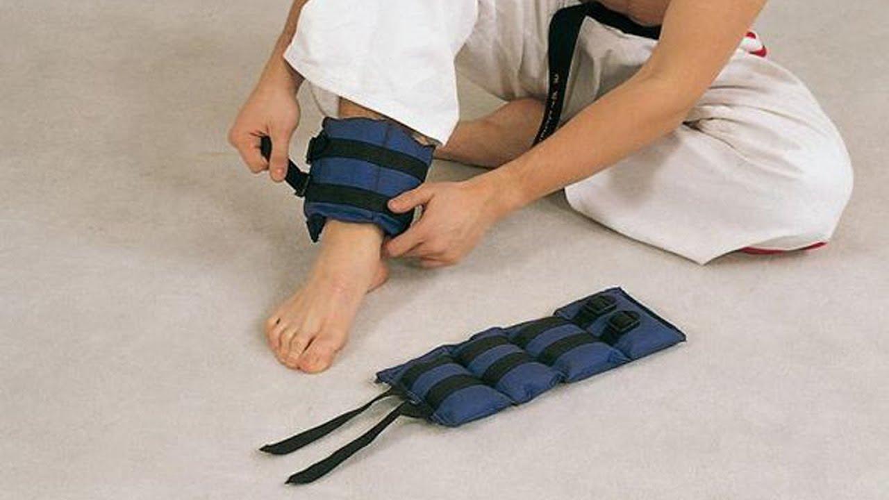 Как самому сделать утяжелители для ног и рук своими руками