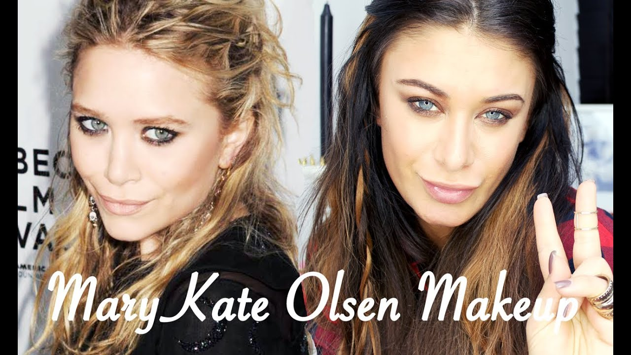 Mary kate and ashley eye makeup