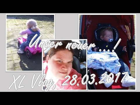 Im Garten! | Unser neuer...! | XL Vlog 28.03.2017 || Reborn Baby Deutsch || Little Reborn Nursery