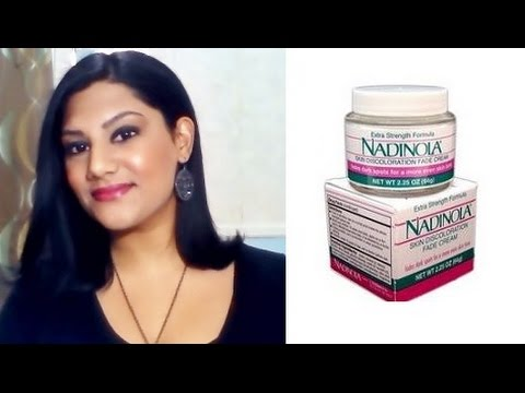 How To Lighten/Whiten Your Skin Using: Nadinola Skin Discoloration Fade Cream Extra Strength Review