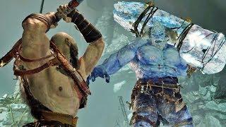 God of War 4 #13: Kratos Contra o Gigante de Gelo