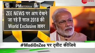 Watch: PM Narendra Modi's exclusive interview with Zee News Editor Sudhir Chaudhary