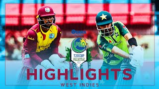 Extended Highlights | West Indies v Pakistan | 2nd Osaka Presents PSO Carient T20 Cup Match