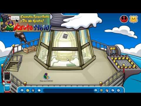 █►Club Penguin:Nuevo Pin Agosto 2013 HD