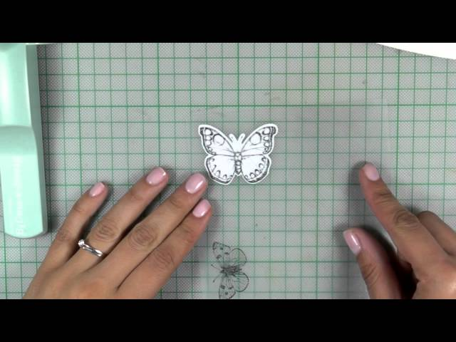 How-to video: Butterflies card
