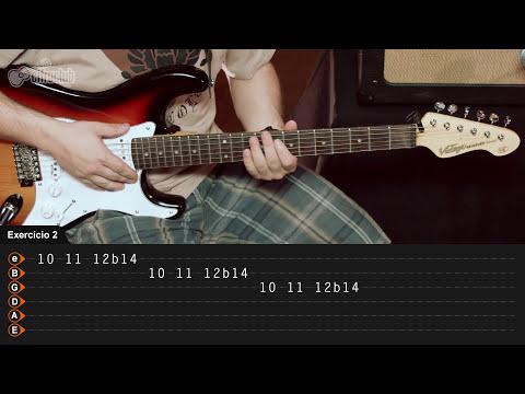 Técnicas de Guitarra -  Bend (aula iniciante)