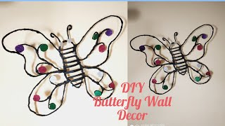 DIY Butterfly Wall Decor / Beautiful Black Butterfly Wall Art  Decor  Ideas @sv craft zone