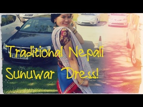 Traditional Nepali Sunuwar Dress!