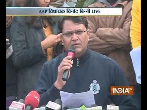 Vinod Kumar Binny exposes AAP in press conference Part 1