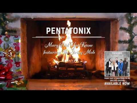 Yule Log Audio Mary Did You Know? feat The String Mob  Pentatonix
