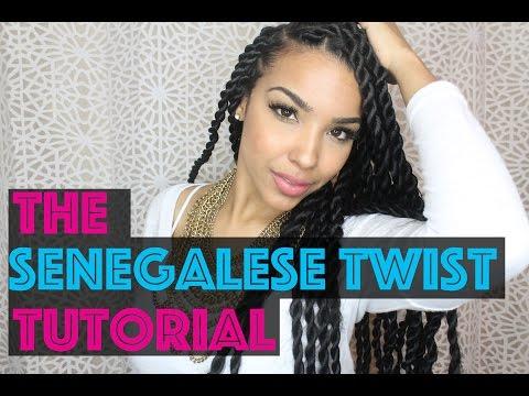 The Senegalese Twist TUTORIAL