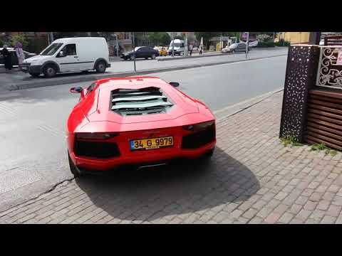 Lamborghini Aventador in İstanbul Bakırköy Part 2