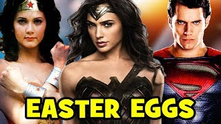 Wonder Woman EASTER EGGS & Things You Missed