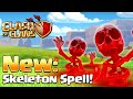 Clash of Clans - NEW SPELL! Skeleton Spell (New Update)