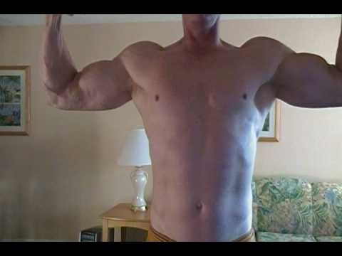 Flexing Pecs And Biceps With Veins video