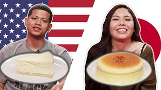 Japanese Vs. NY Cheesecake