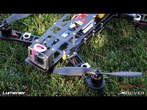 QAV-400 quadcopter 2nd Build Video with DJI NAZA LITE and Dragon Link