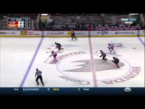 Carolina Hurricanes vs. Anaheim Ducks 03.02.2015