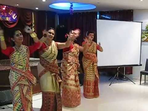 Singapore Rongali Bihu 2013- Bihu Dance video