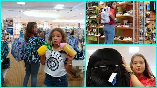 BACK TO SCHOOL SHOPPING | SHOES | CLOTHES | BACKPACK | SUPPLIES | SISTERFOREVERVLOGS #547