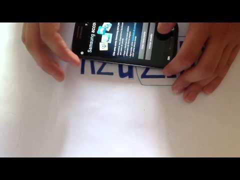 Samsung Galaxy S III ligando pela primeira vez e primeiras
